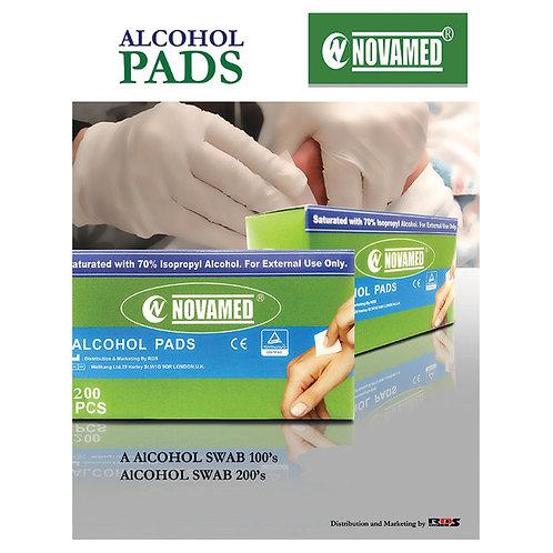 ALCOHOL PADS 200S(NOVAMED)