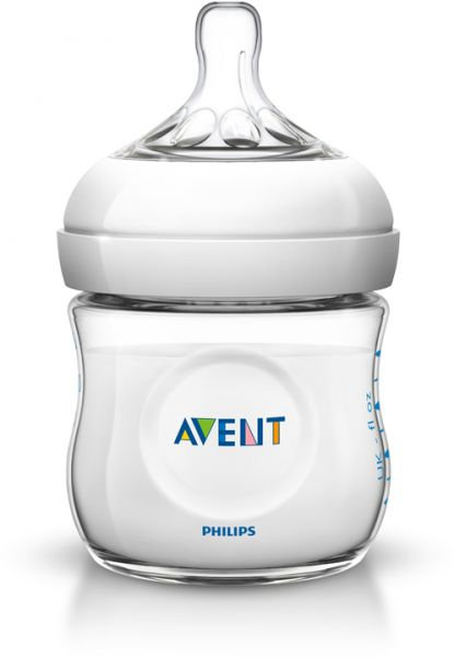 PHILIPS AVENT 2.0 NATURAL FEEDING BOTTLE GLASS 120ML X1