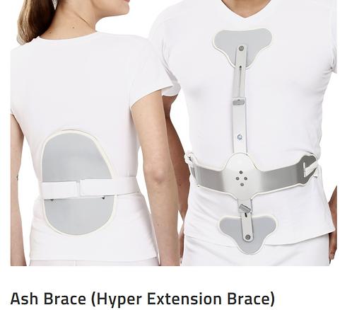 TYNOR Ash Brace (Hyper Extension Brace)