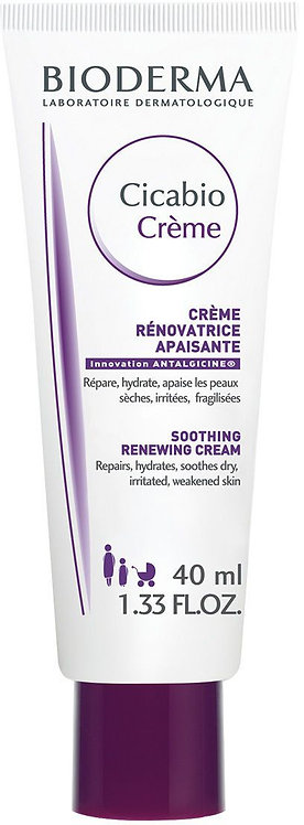 BioDerma Cicabio Soothing Repairing Cream for Unisex, 40 ml