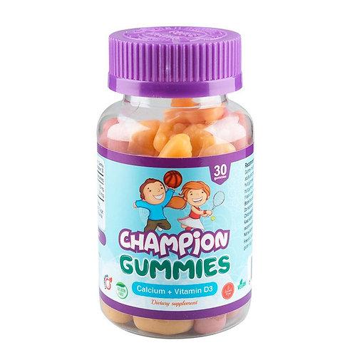 CHAMPION GUMMIES CALCIUM+VITAMIN D3 0