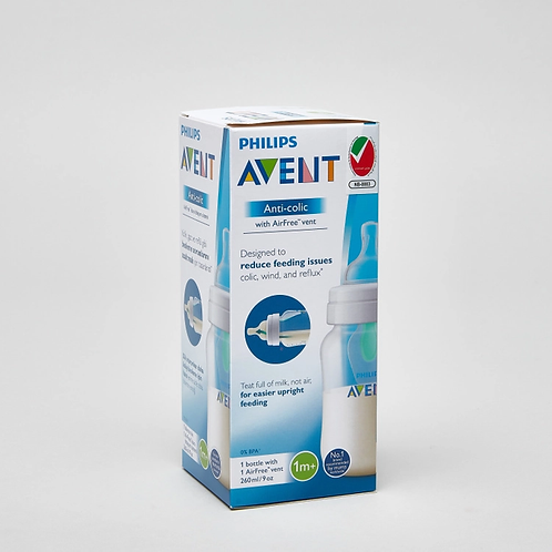 PHILIPS AVENT ANTI-COLIC BOTTLE WITH AIRFREE VENT 125ML X1