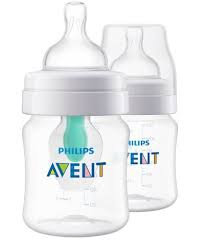 PHILIPS AVENT ANTI-COLIC BOTTLE WITH AIRFREE VENT 125ML X2