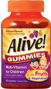 ALIVE CHILDREN GUMMIES 60S