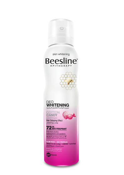 BEESLINE WHITENING SPRAY DEO 150 MLCOTTON CANDY