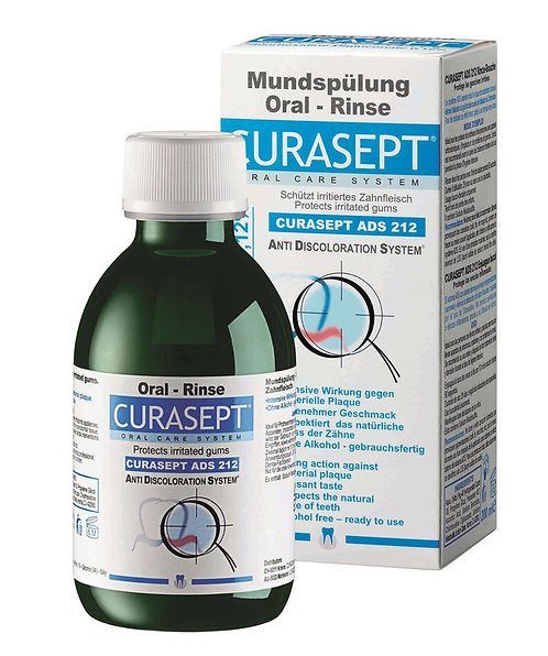 CURASEPT 212 ORAL RINSE
