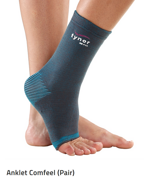 TYNOR Anklet  Comfeel (PAIR)