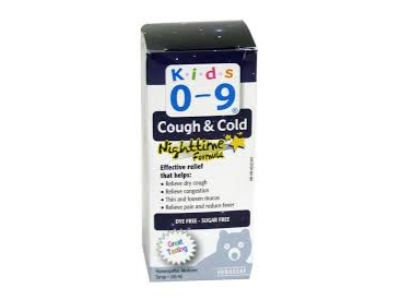 KIDS 0-9 COUGH & COLD NIGHT 100ML