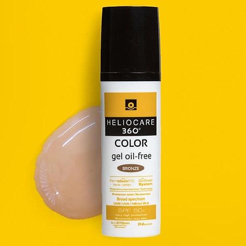 HELIOCARE 360 GEL OIL-FREE SPF50 BRONZE 50ML