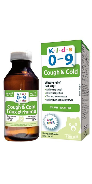 KIDS 0-9 COUGH AND COLD SYP 100ML