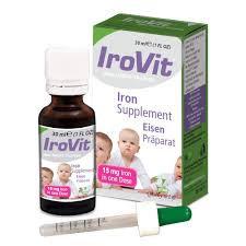 IROVIT ORAL DROPS 15MG