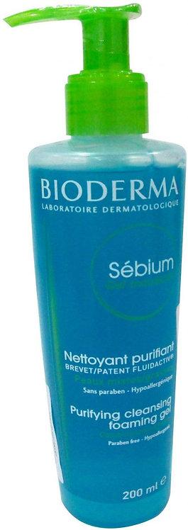 BIODERMA SEBIUM MOUSSANT FOAMING GEL 200 ML - 06211