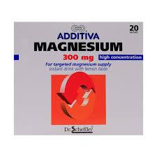 ADDITIVIA MAGNESIUM EFF.300MG