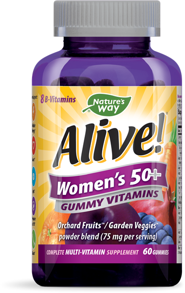 ALIVE!WOMENS50+MULTI GUM60S