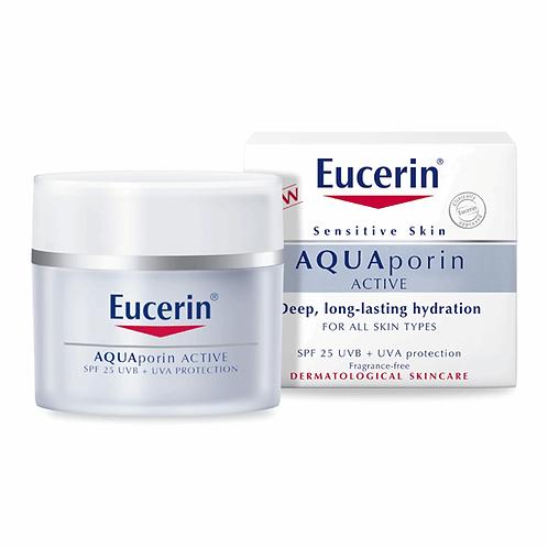 EUCERIN AQUAPORINE UV CREAM SPF 25