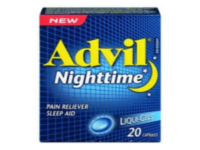 ADVIL NIGHT ** CAPLET-TABLET 20S (10S BLISTER X 2)