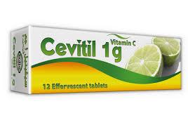CEVITIL 1G TABLETS/EFFERVESCENT 12S