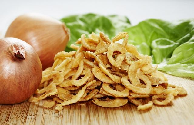 crispy salted onion