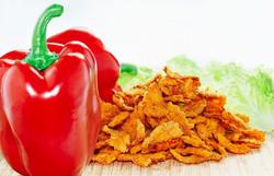 Crispy red pepper