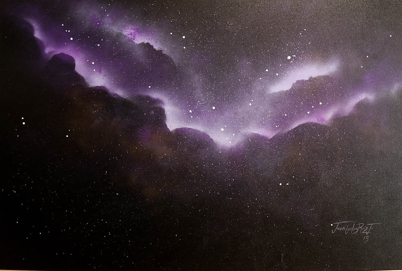 Violet Clouded Celestial