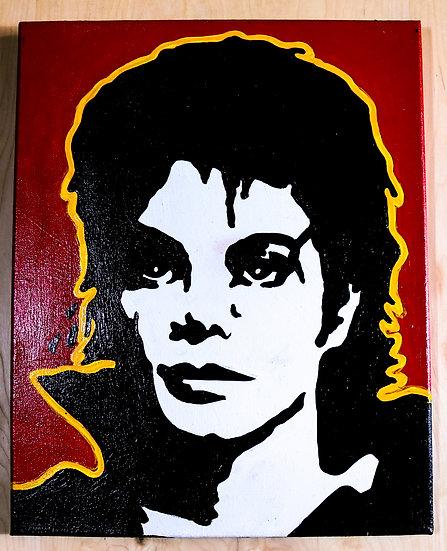 Michael Jackson acrylic paintnig