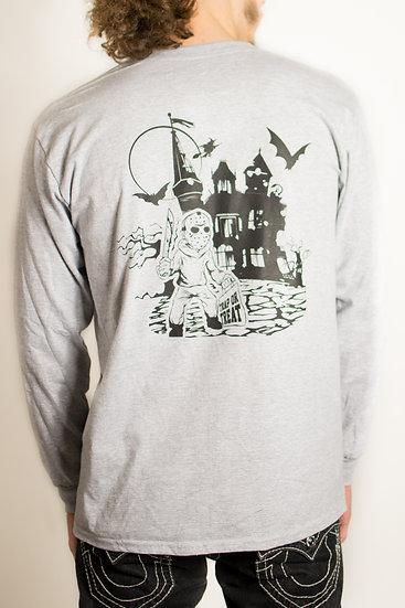 Spooky Trap House L/S T-Shirt