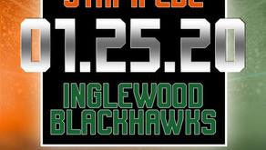 Stampede vs Blackhawks Game is Set