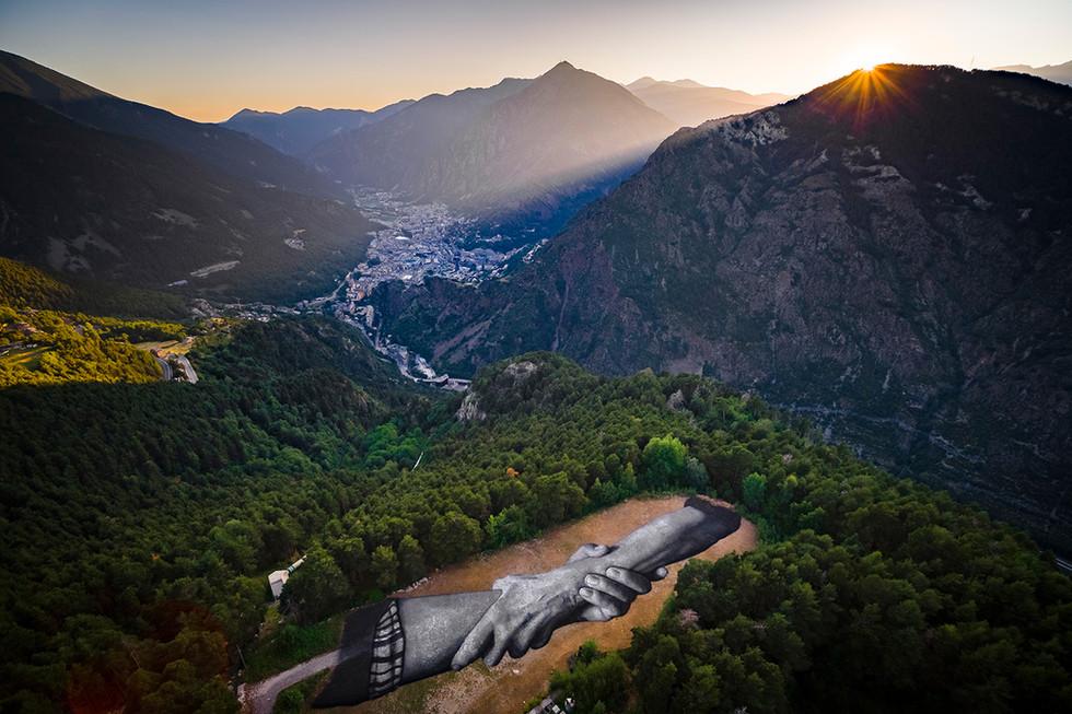 Saype - Beyond Walls - Step 2 Andorra_2.