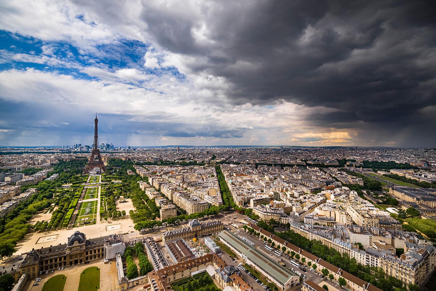Beyond Walls Paris 2019 by Saype