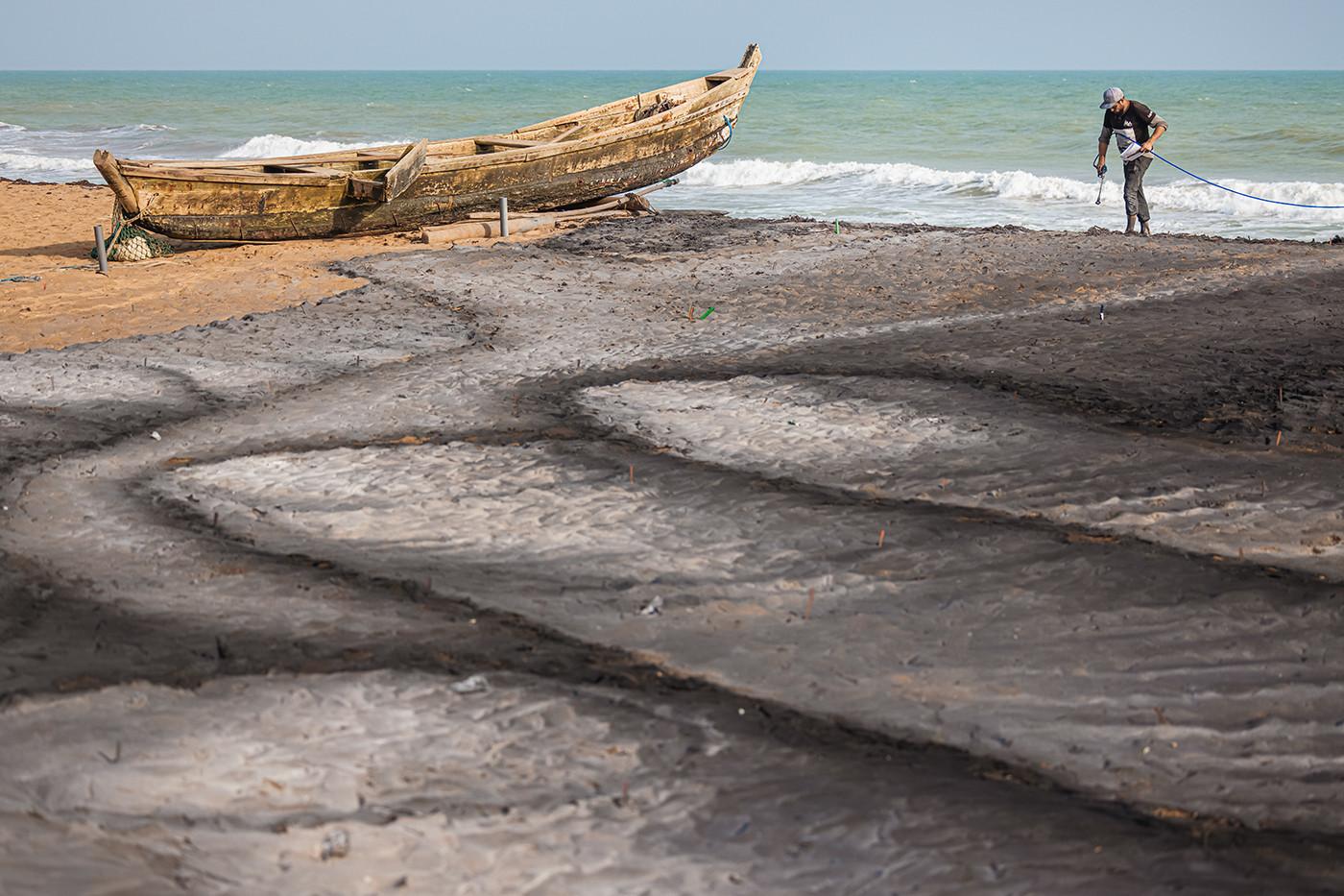 SAYPE | Beyond Walls step 10, Ouidah