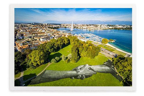 Lithographie Beyond Walls - Genève 2019