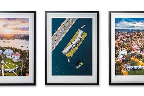 Beyond Walls - Istanbul 2020 - Triptych