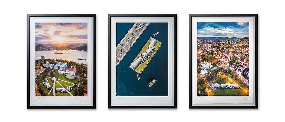 Beyond Walls - Istanbul 2020 - Triptych