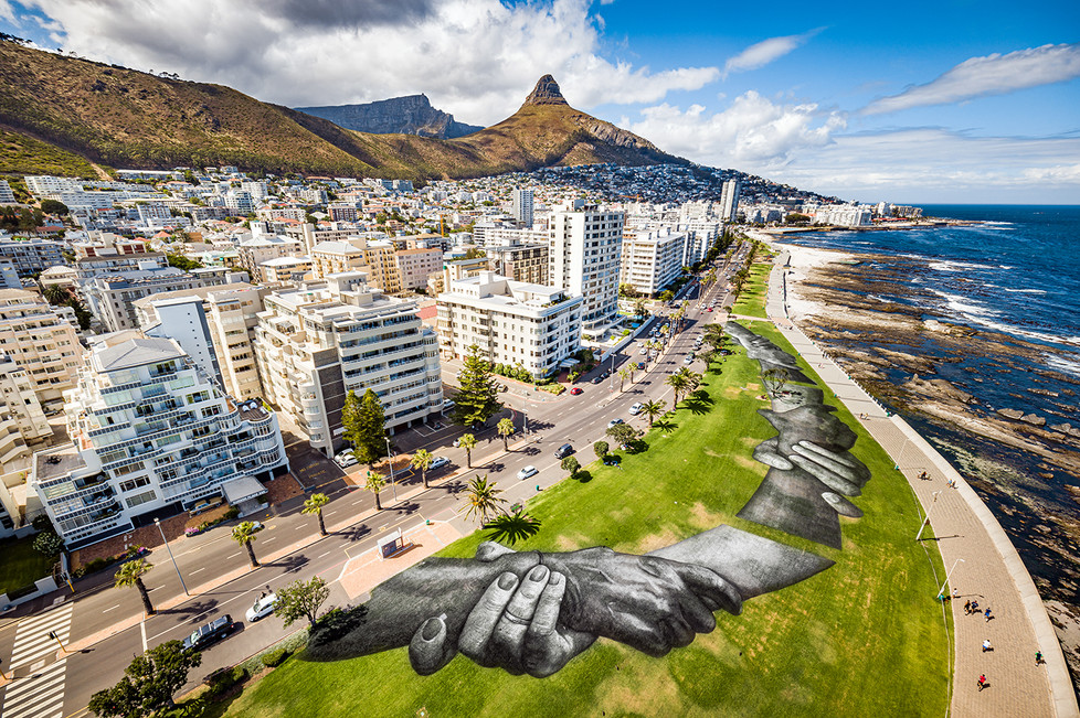 SAYPE | Beyond Walls step 9, Cape Town