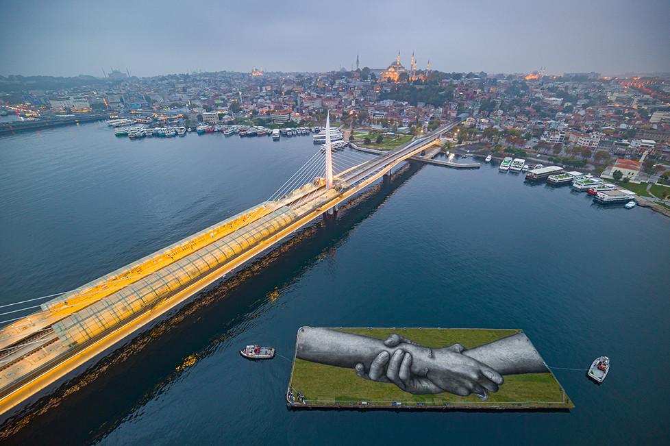 Beyond walls | Istanbul | SAYPE