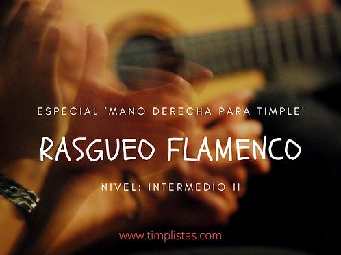 Rasgueo flamenco para timple