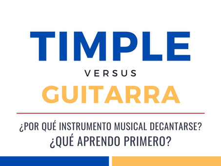 Timple vs Guitarra