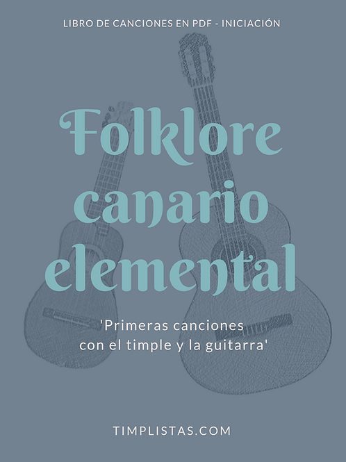 3. Folklore Canario Elemental