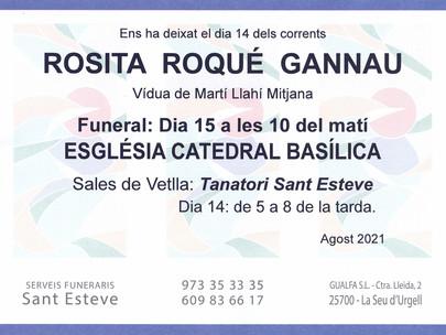 Rosita Roqué Gannau