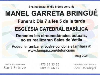 Manel Garreta Bringué