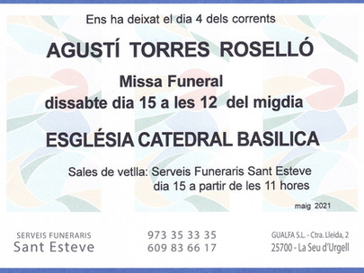 Agustí Torres Roselló