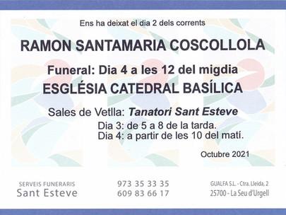 RAMON SANTAMARIA COSCOLLOLA