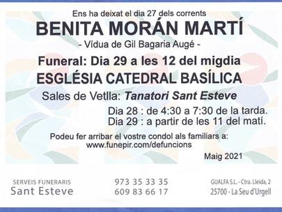 Benita Morán Martí