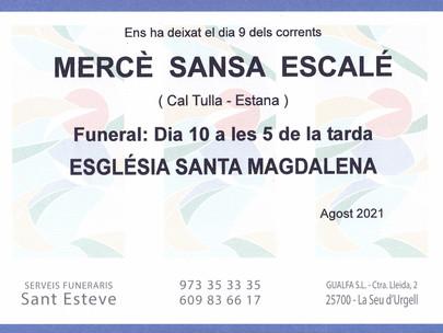 Mercè Sansa Escalé