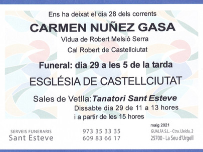 Carmen Nuñez Gasa