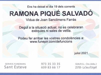Ramona Piqué Salvadó