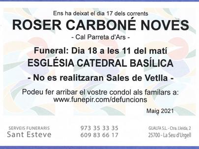 Roser Carboné Noves