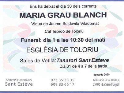 Maria Grau Blanch