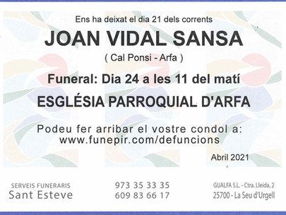 Joan Vidal Sansa