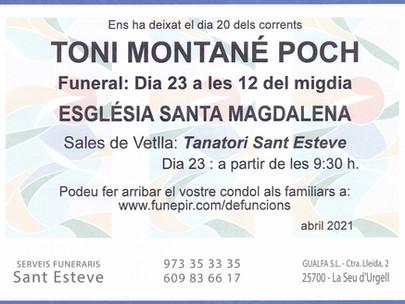 Toni Montané Poch